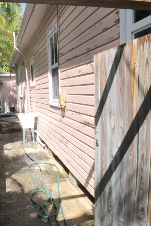 exterior painting progress