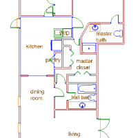 our house floor plan and our house floor plans