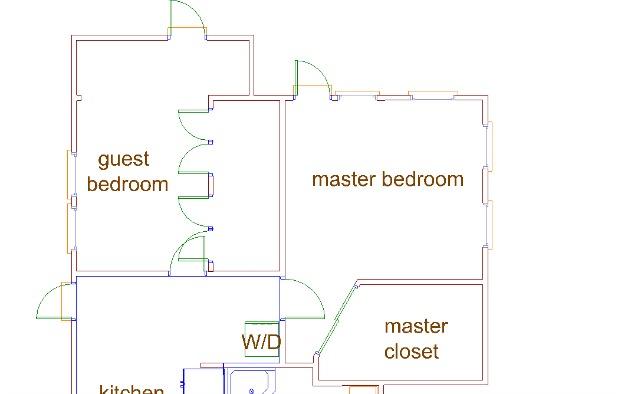 key west house floor plan