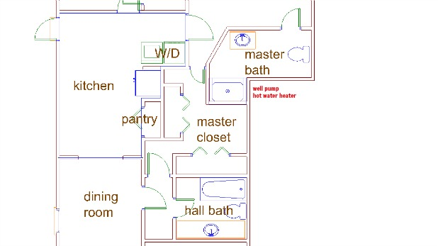 key west house floor plan