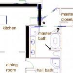 master bathroom floor plan