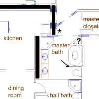 master bathroom remodel – the layout, i think