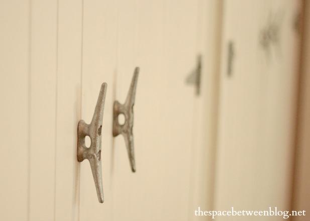 guest bedroom diy wood closet door handles - boat cleats