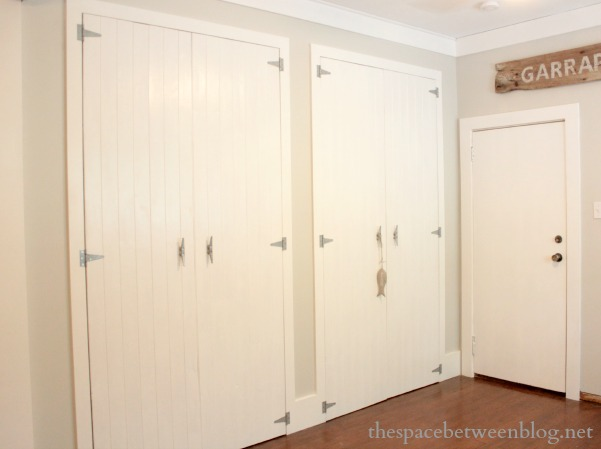 & what I learned about my husband while making DIY wood closet doors