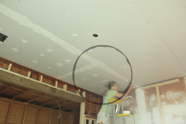 hanging drywall ceilings installing pin walls on before each and center the floor ceiling of stud pinterest mark