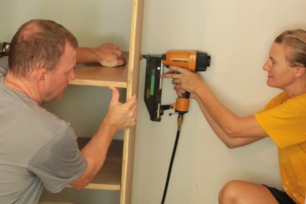 wall to wall closet tutorial