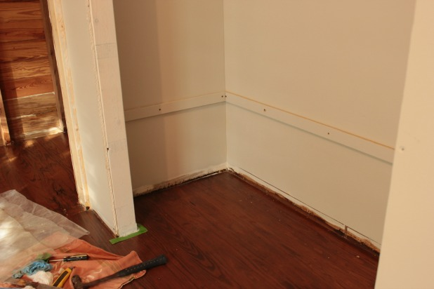 Easy Diy Wall To Wall Closet The Space Between
