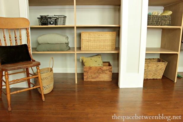 easy wall-to-wall diy closet