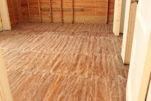 hardwood floor sanding and staining tips