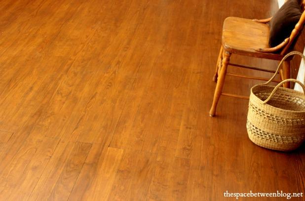 guest bedroom floor after