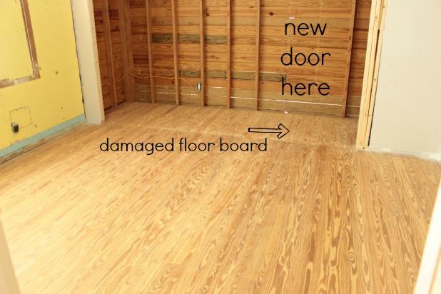 A Little Hardwood Floor Repair The Space Between