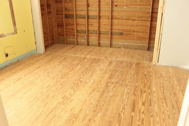 restoring old hardwood floors in the guest bedroom
