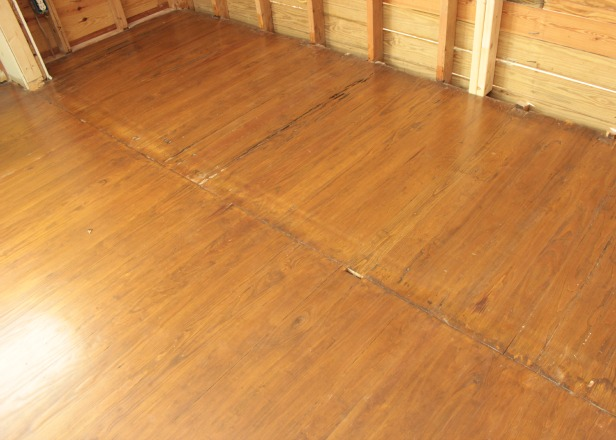 After hardwood floor repair for Wood floor repair