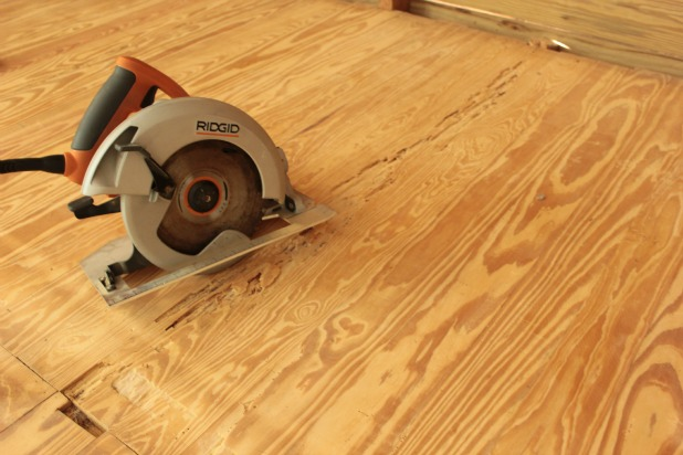 A little hardwood floor repair for Wood floor repair