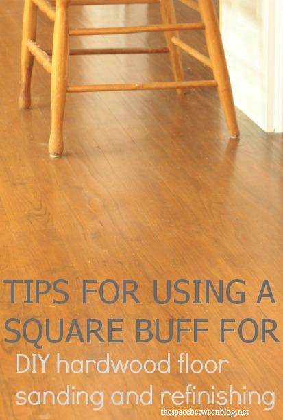 Hardwood Floor Restoration With A Square Buff Sander