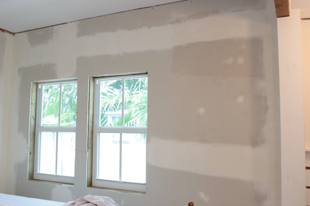 klear primer in the guest bedroom