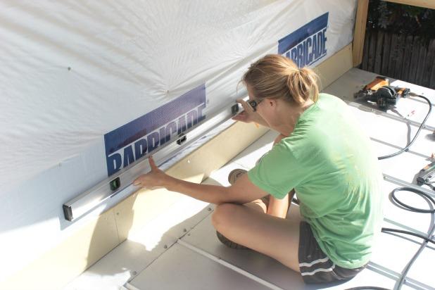 hardiboard siding installation