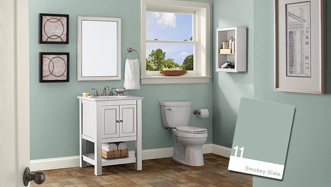 home depot bathroom colors 9 color combinations for your home and easy ways to 18734