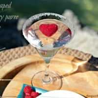upcycling ideas {Valentine's Day ice cubes}
