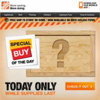Day #12 – deal of the day email