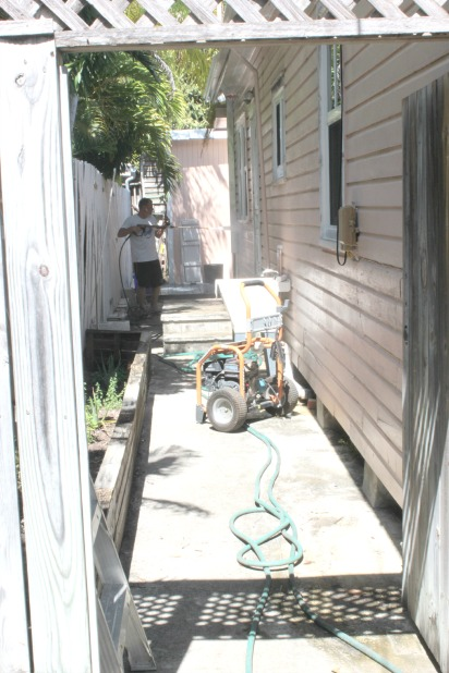 house exterior power washing
