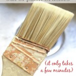 how to clean oil based paint brushes