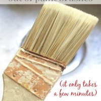 how to clean oil based paint out of your paint brush