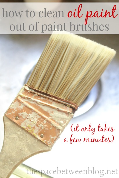 How To Clean Oil Based Paint Out Of Your Brush The E