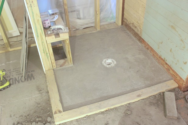How To DIY A Shower Pan Preslope And Do You Even Need One - What do you need for tile floor