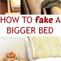 Day #14 – how to fake a bigger bed