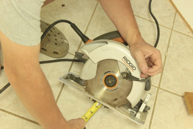 set circular saw blade depth