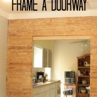 open sesame {how to frame a doorway}