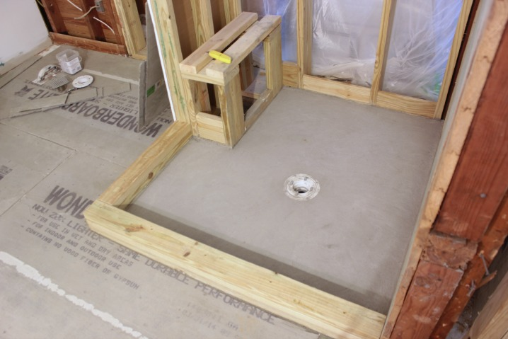 how to install a pvc shower pan liner