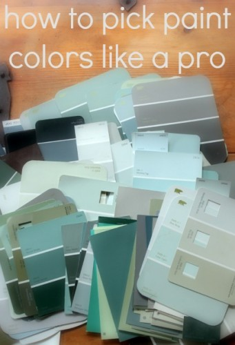 professional tips for choosing paint colors