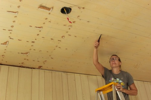 how to remove a drop ceiling