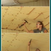 how to remove a drop ceiling {drop it like it's hot}