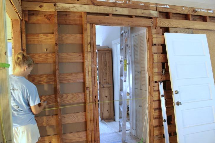 installing a pocket door