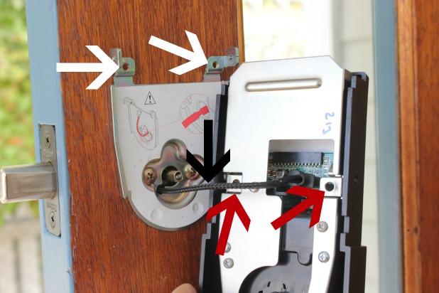 keyless entry installation