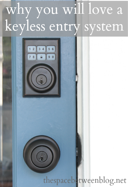 Our New Keyless Entry And Why I Love It So