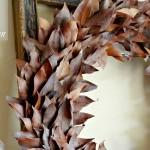 leaf wreath slide