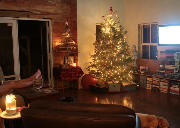 living room Christmas 2013