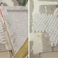 laying irregular floor tile {what would you do?}