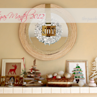 the mantel {Christmas 2012}