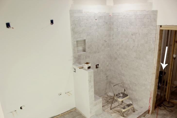 master bathroom shower tile