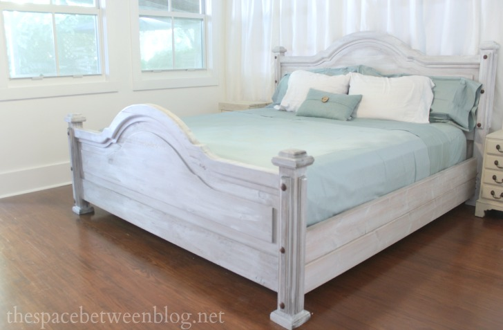 master bedroom bed
