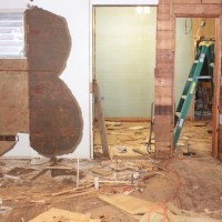 master renovation – demolition and disappointing discoveries {and a couple fun ones, too}