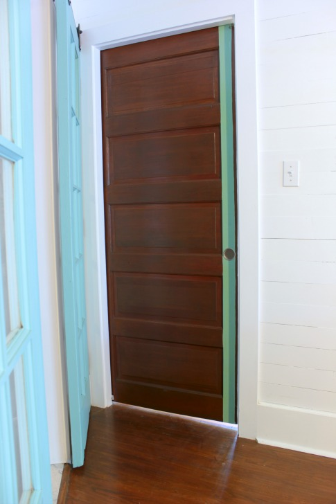 Finished Diy Pocket Door
