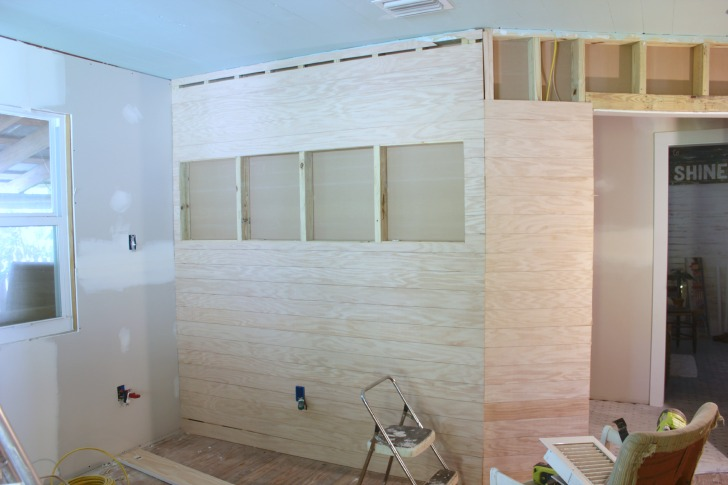 wood slat walls