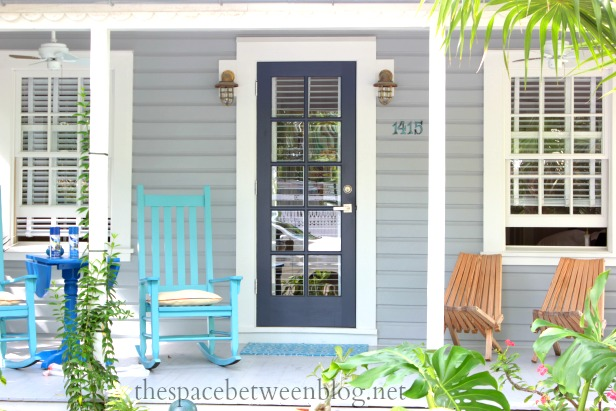 Front door colors and using key west front doors for - Door colors for gray house ...