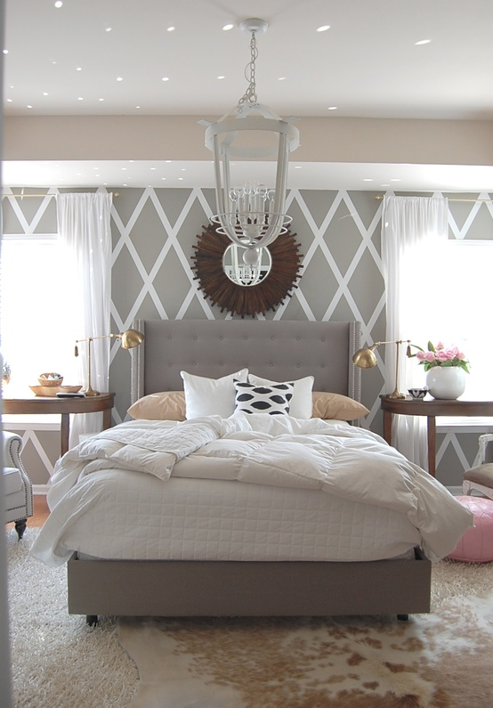 9 color combinations for your home and easy ways to for Grey and neutral bedroom